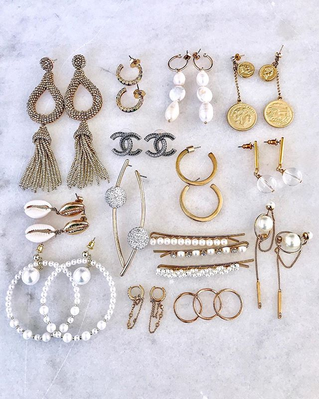 || Can you really ever have too many pairs of earrings? || http://liketk.it/2Cvbk #liketkit @liketoknow.it #LTKstyletip #LTKunder100 #LTKunder50