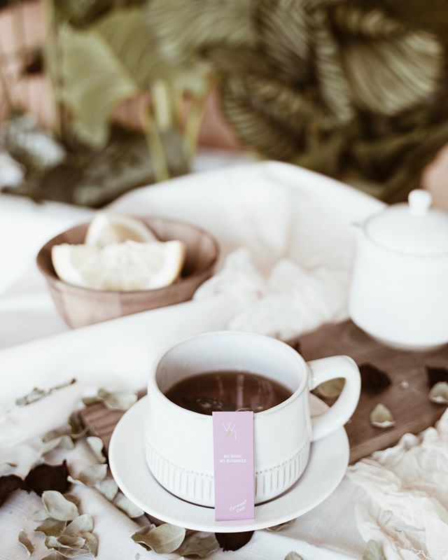 """So many people are quick to judge and regulate what you do with your body. That's why we created this tea tag for Coconut Cali """"My Body My Business"""""""