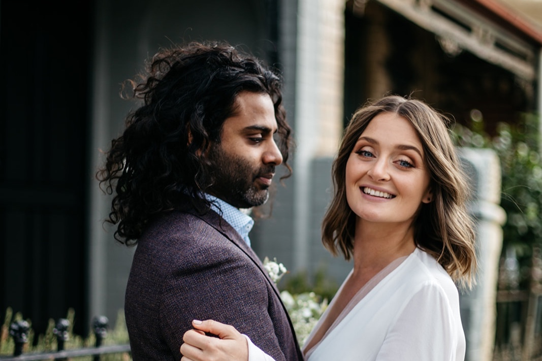 Emma + Denesh - Intimate Fitzroy Wedding with a reception at Sir Charles.