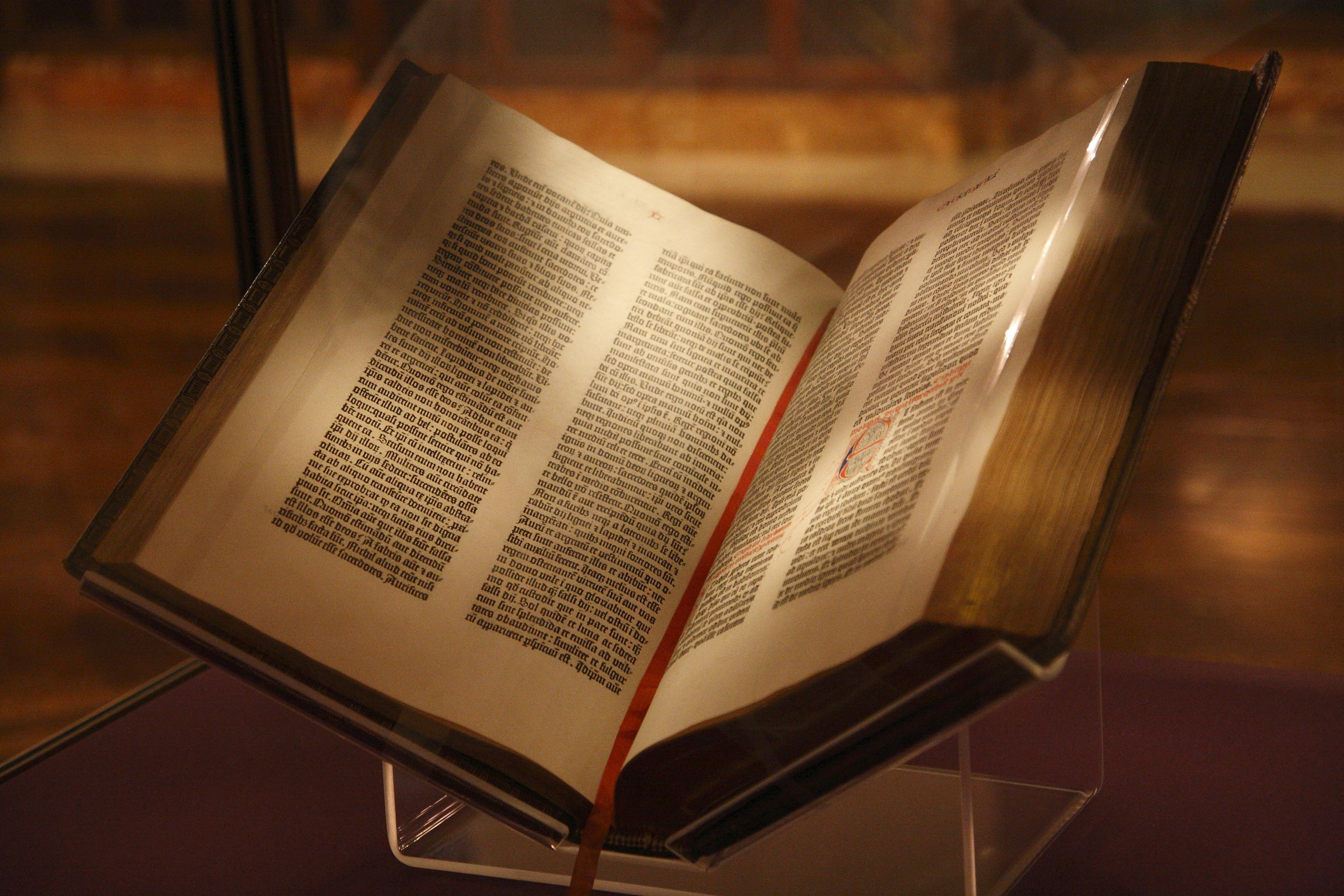 1454 - The Gutenberg Bible - the world's first book printed on a moveable type printing press is printed on Hemp paper. The few remaining original copies of the Gutenberg Bible are considered to be the most valuable books in the world with a complete copy valued at over $25 million.