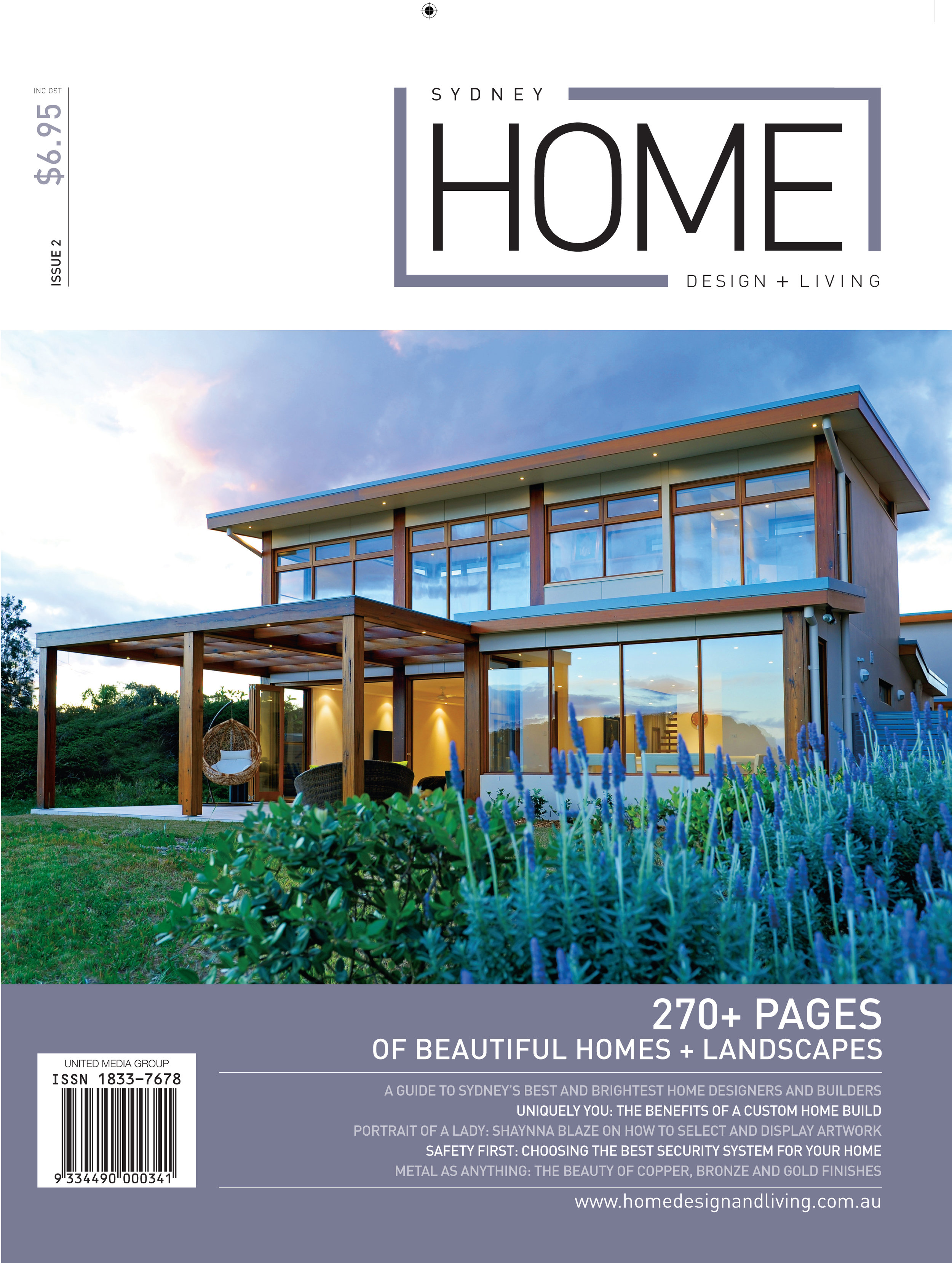 Hemp Gallery featured in Sydney Home Design and Living Magazine