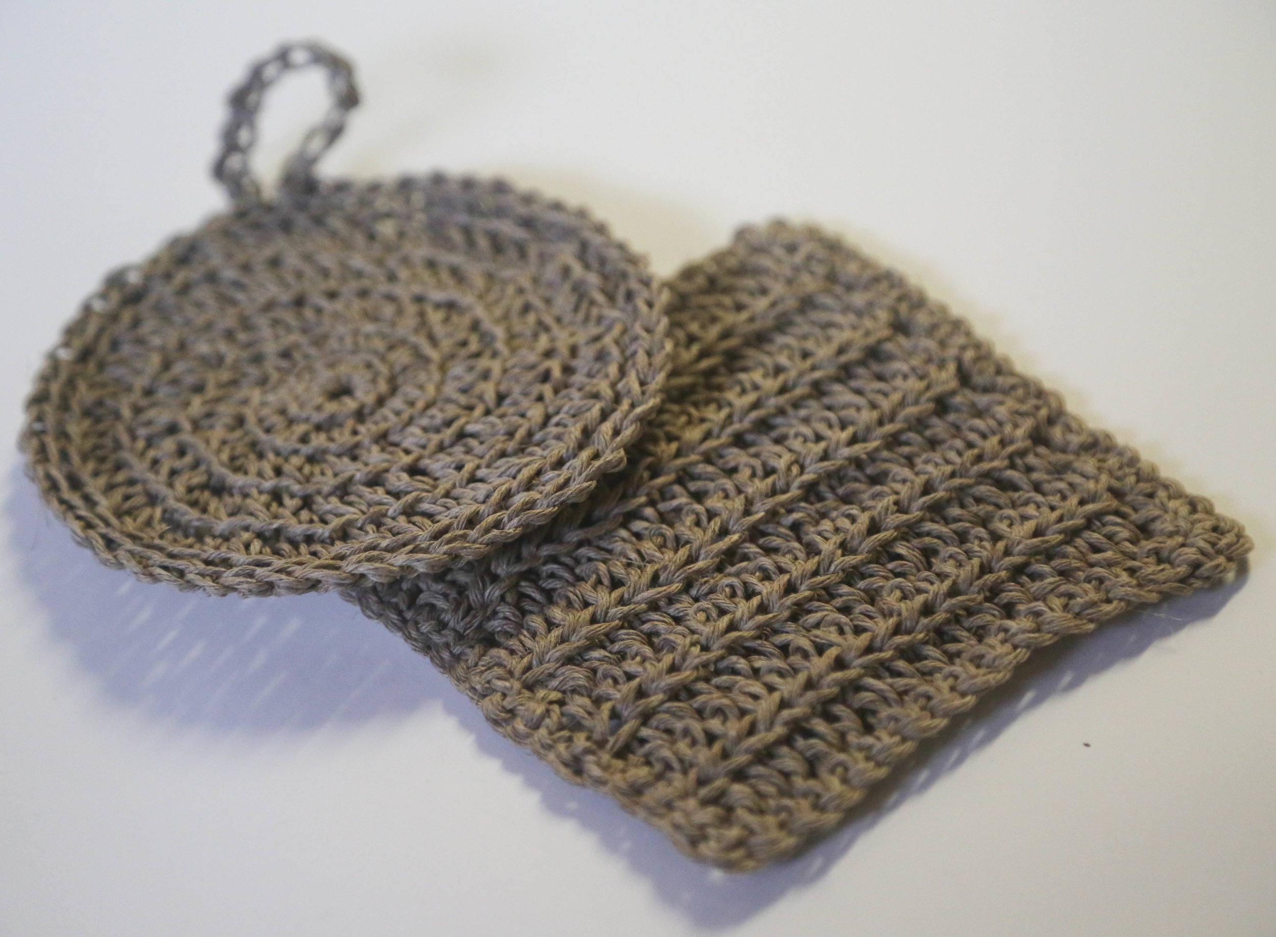 Hemp Twine Woven Cleaning and Wash cloths available on Hemp Gallery Australia