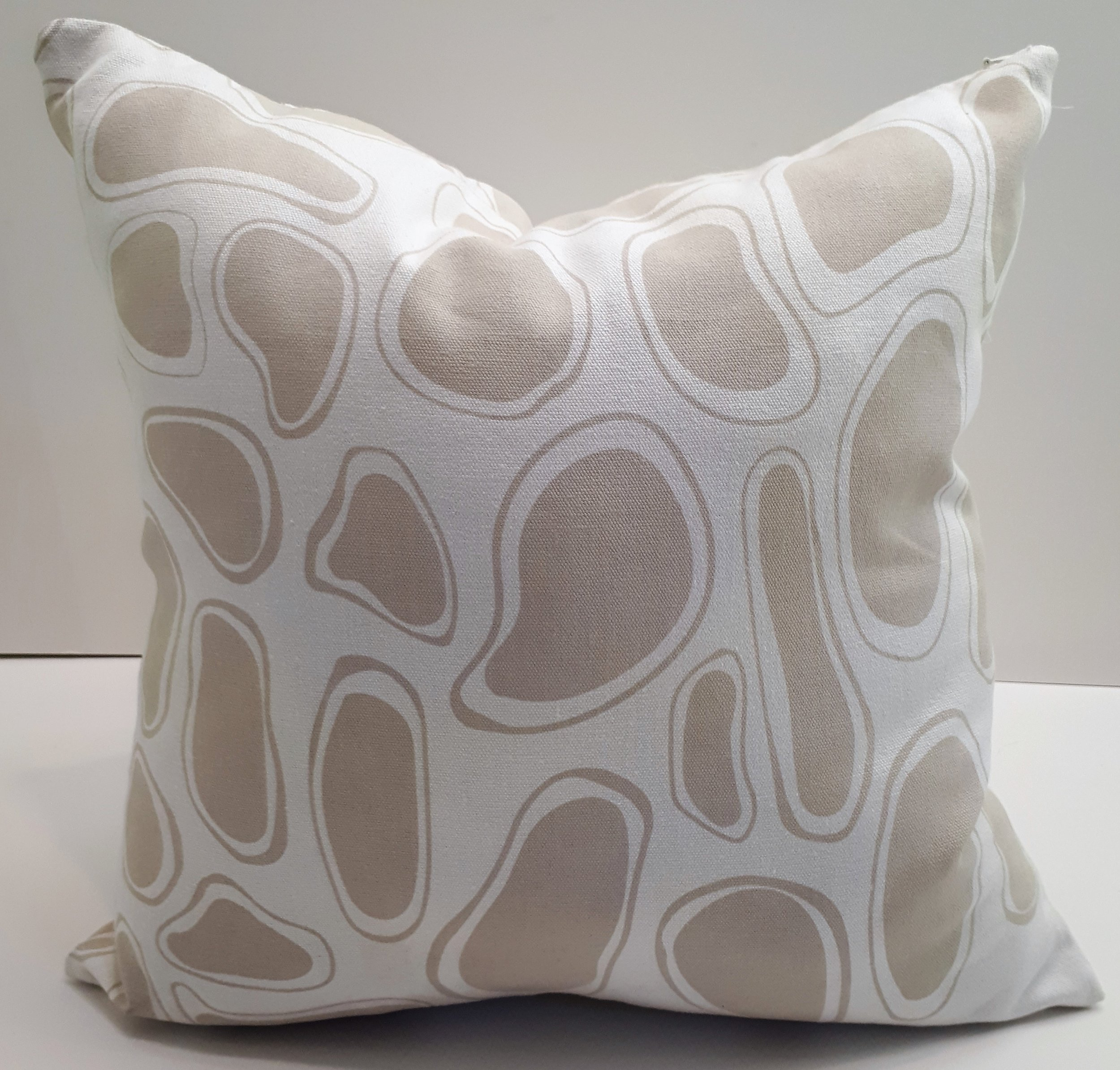 Stones Designed Art Cushion by St James Whitting For Hemp Gallery Australia