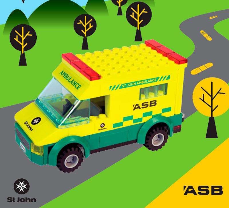 ASB / St John Lego Ambulance