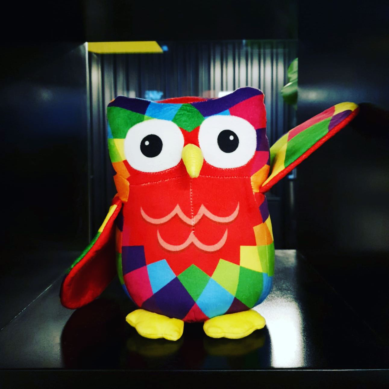 plush owls   Child cancer foundaton   Haier Big Hoot Auckland art trail