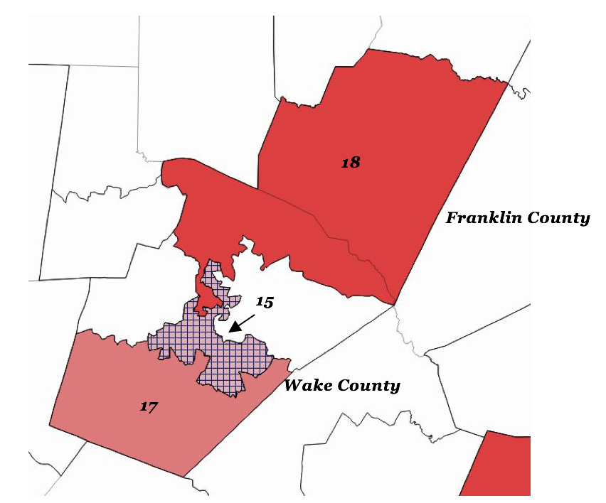 Wake and Franklin Counties