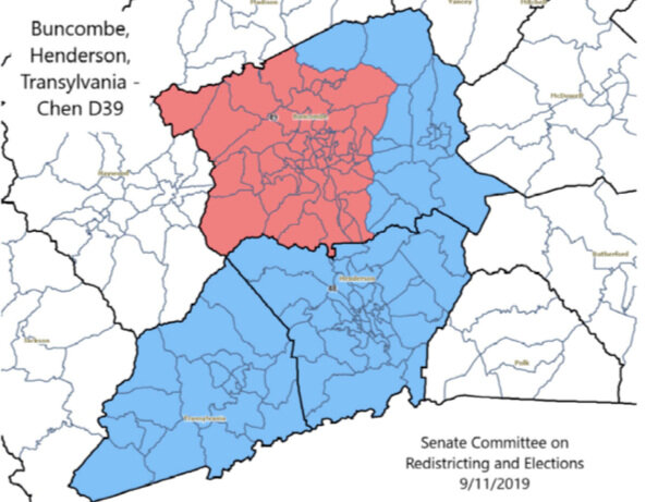 Adopted map for Buncombe-Henderson-Transylvania