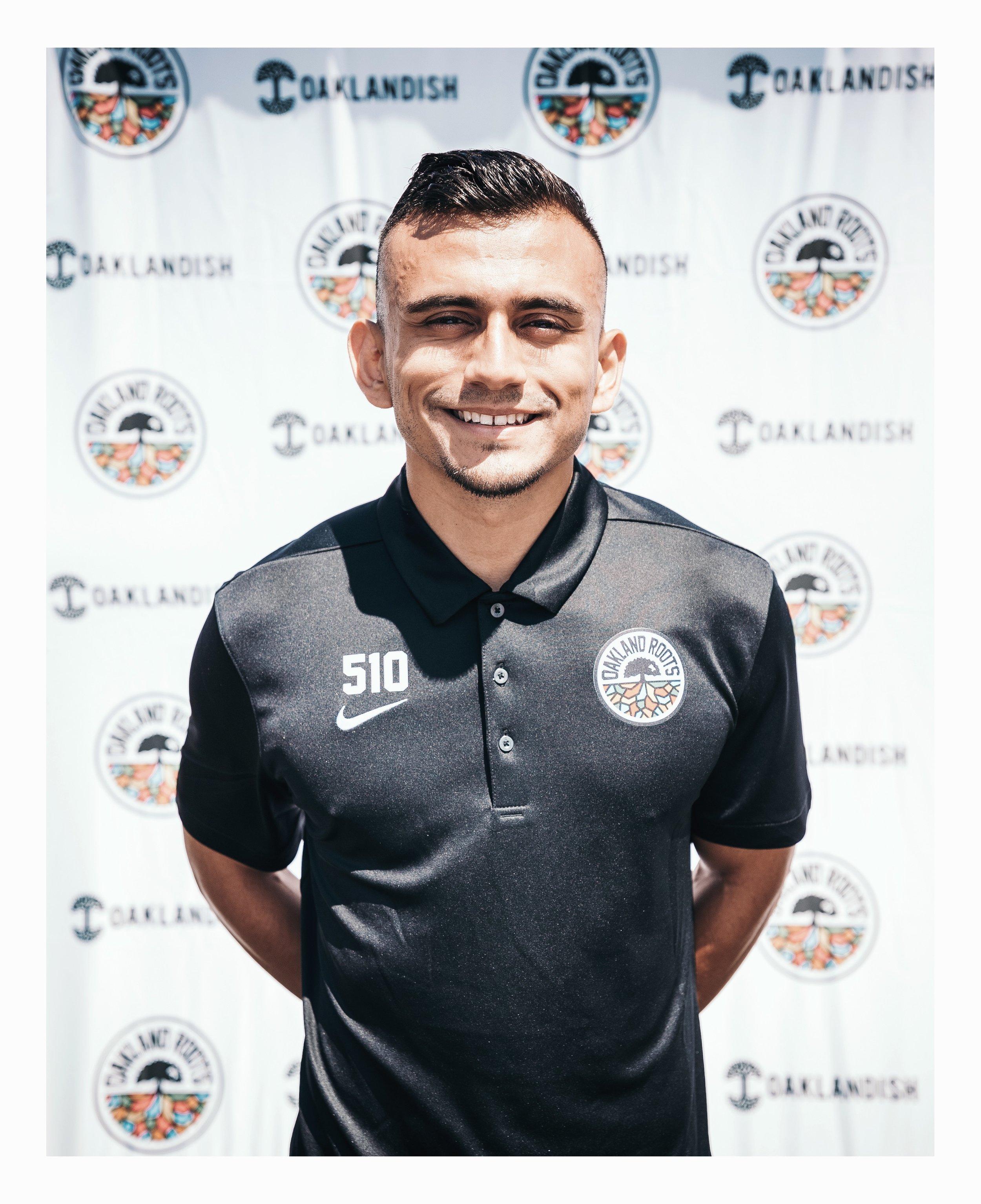 Angel Heredia #20 - Central Midfielder
