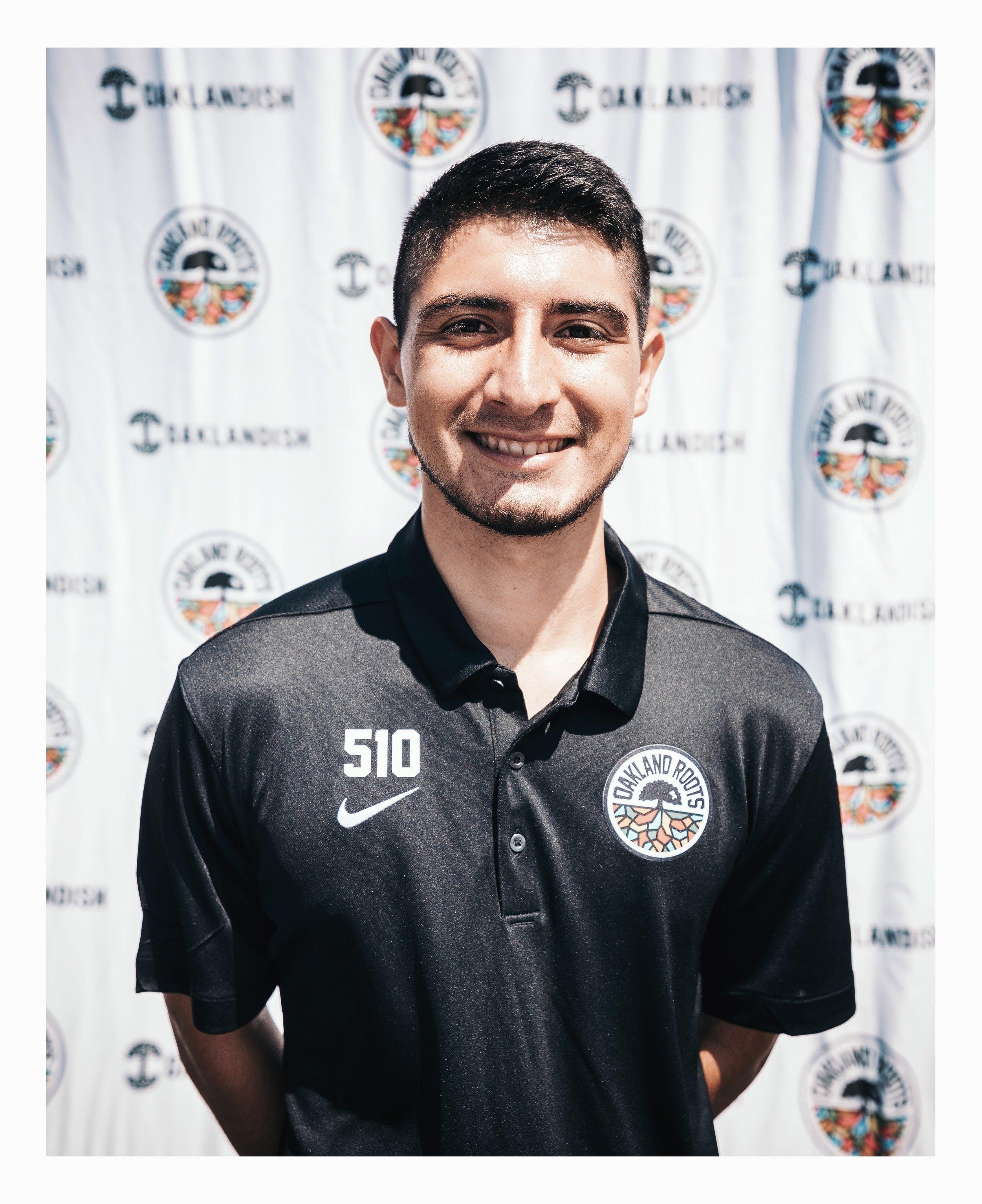 Andres Jimenez #8 - Central Midfielder