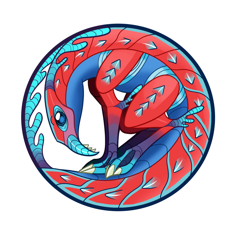 """""""Poisonous Dog Shrimp"""" - digital creature design & stylistic illustration"""