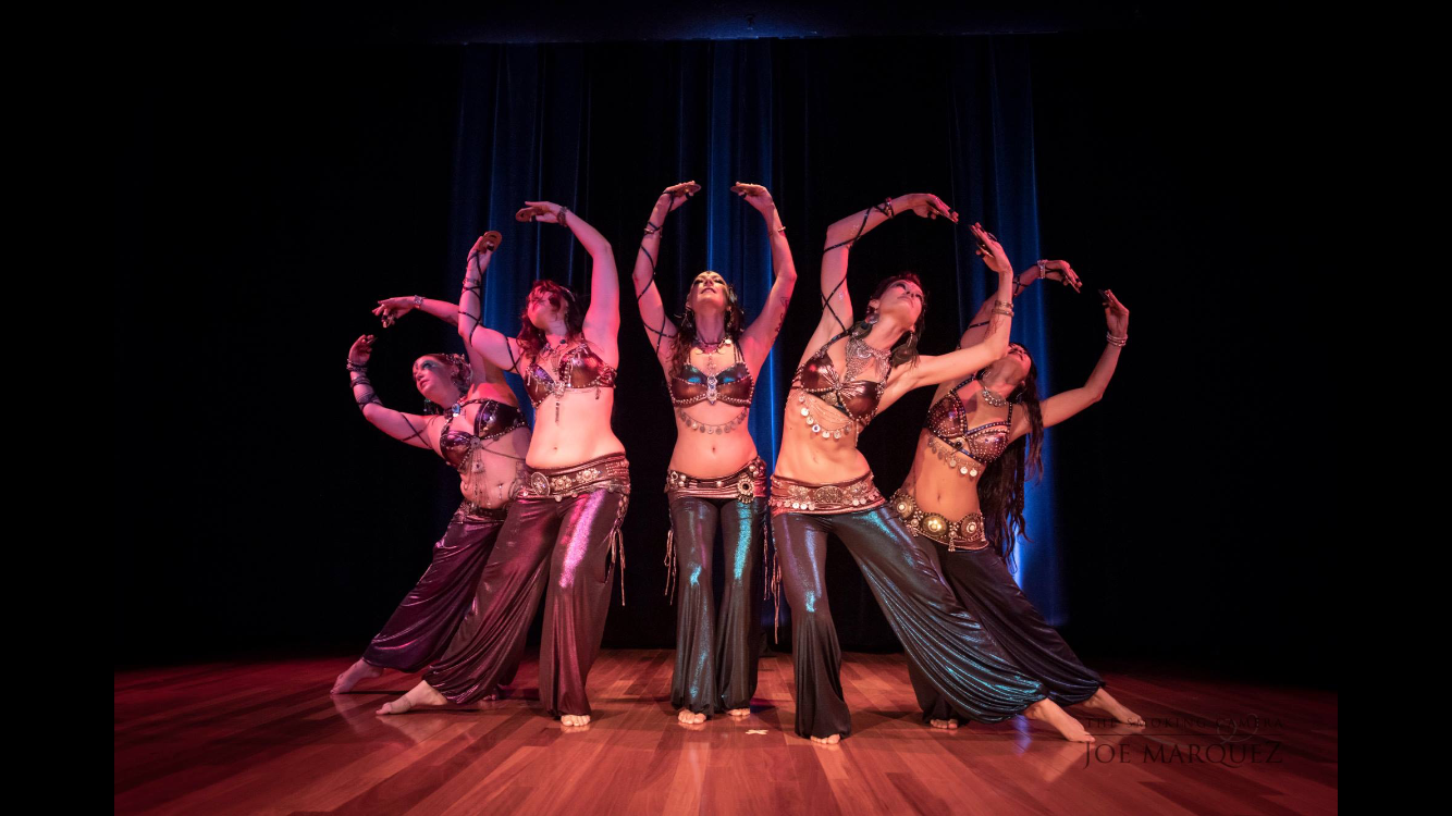 Maui Belly Dance Company   Photo Credit: Joe Marquez  Shakti Den's production on Oahu for Rachel Brice's intensive