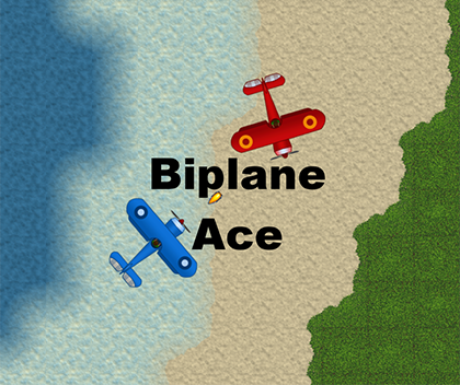Biplane Ace - Our first game, released in beta and playable at: http://bit.ly/2sH2y9sControls: use arrow keys to move and space bar to fire.