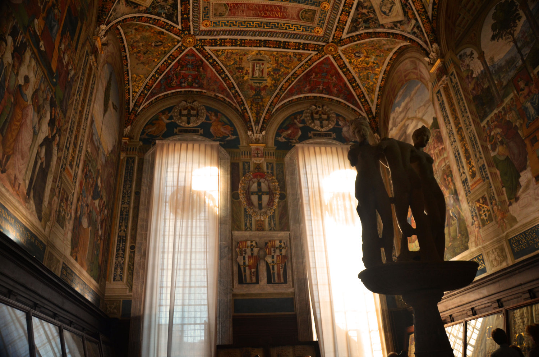 Piccolomini Library Siena Duomo