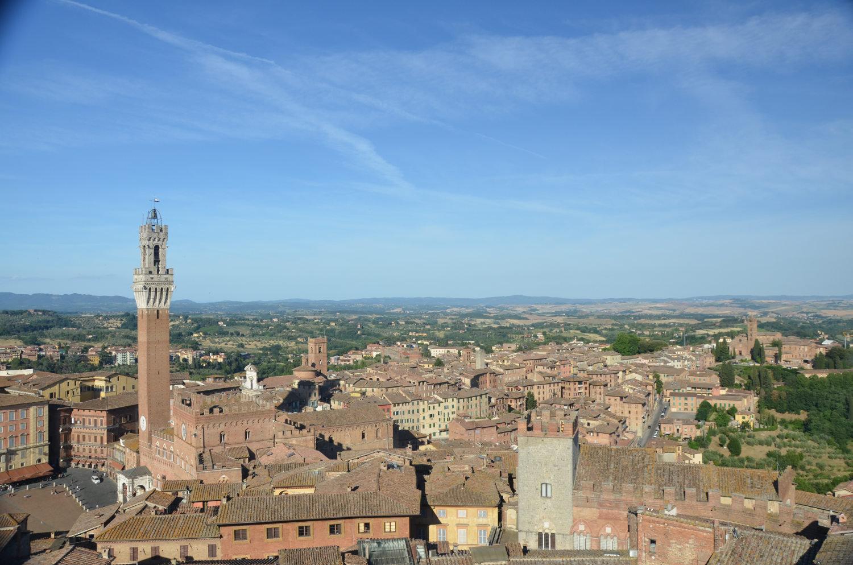 Panorama del Facciatone Siena