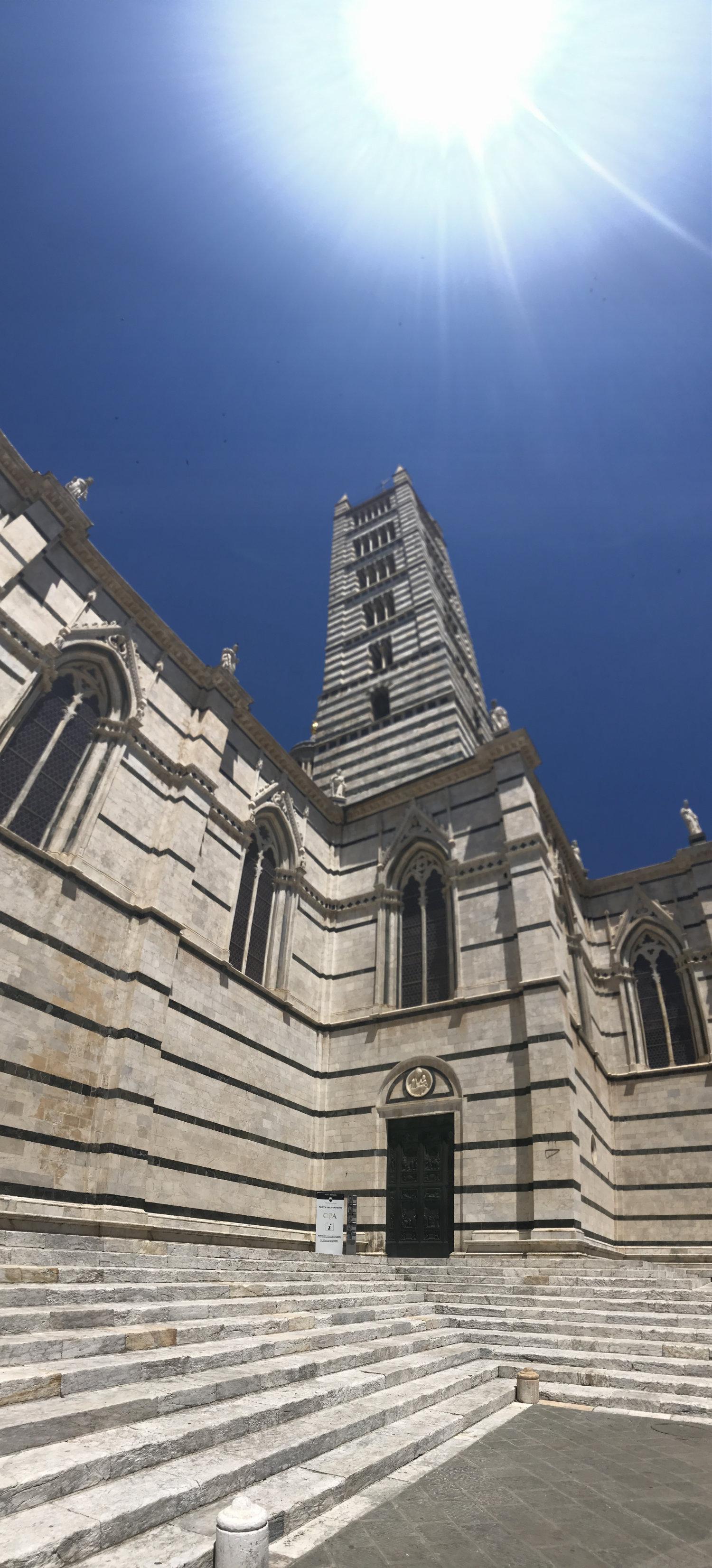 Siena's Duomo Tower