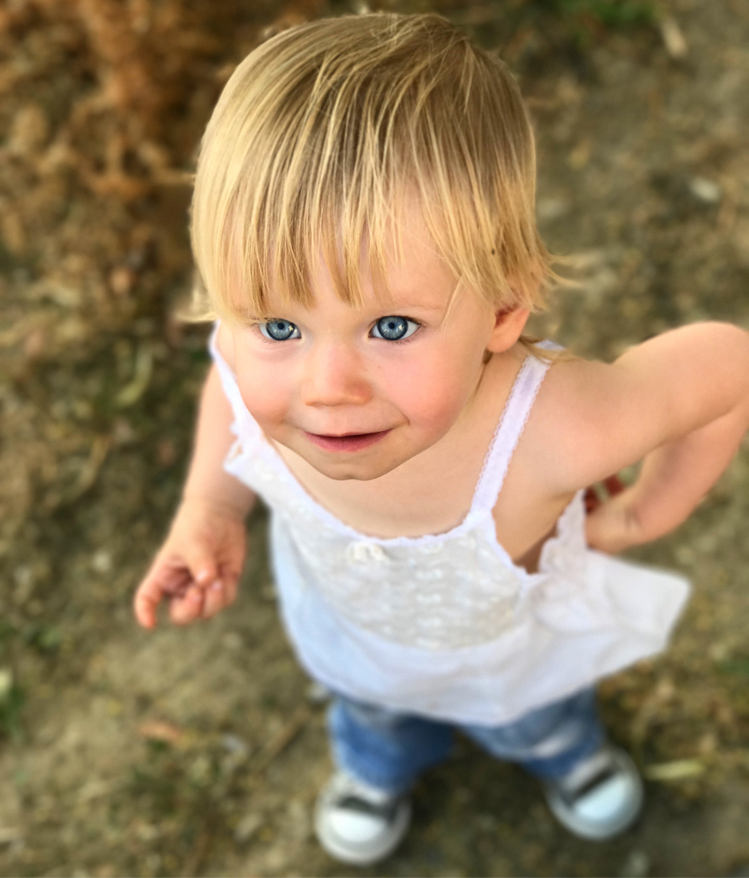 Beautiful toddler
