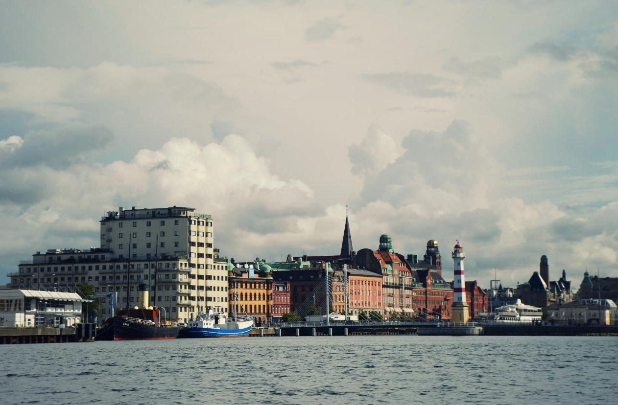 Views of the Malmö, Sweden skyline.