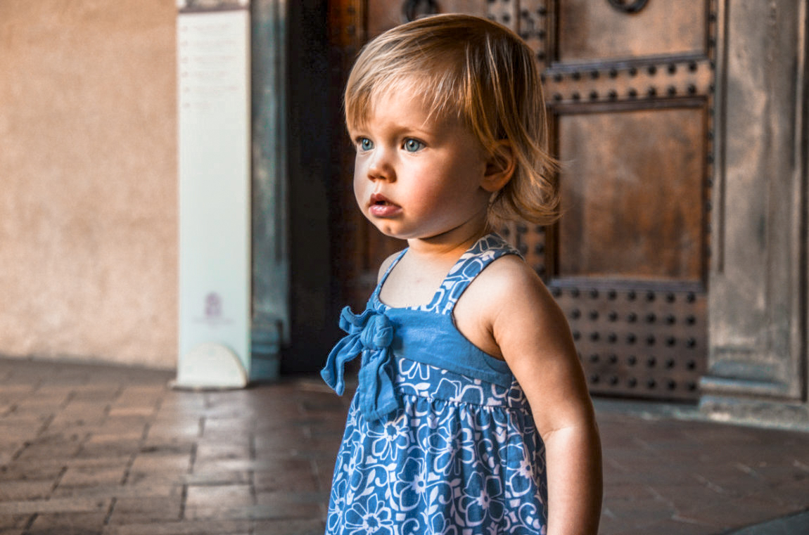 Kailen, 18 months old in Florence, Italy.  As we reminisce on where we've been we also know we have so much to look forward to.