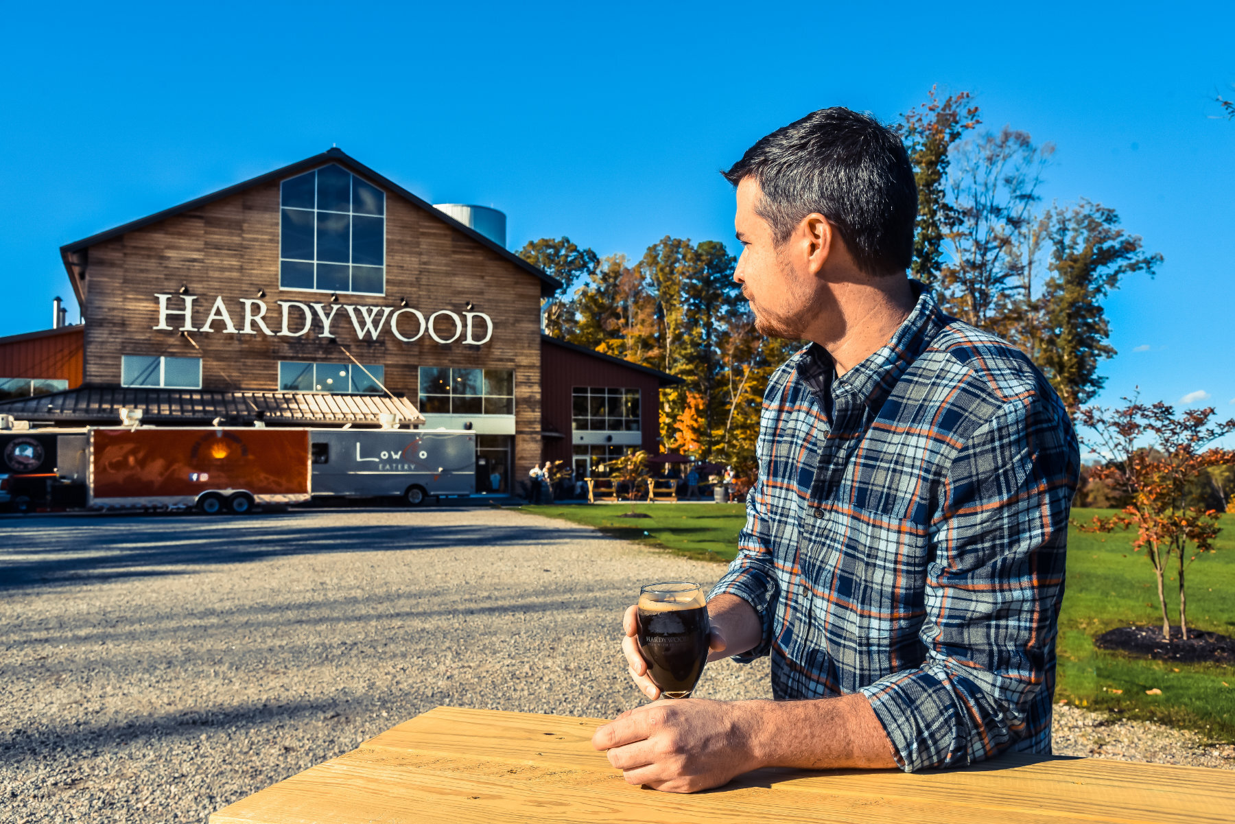 Hardywood Brewery at West Creek is one of our favorite fall spots!