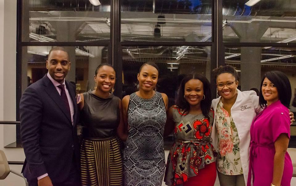 (From left to right, Rendel Solomon, Micaela Brown, Keisha Howard, Erica Douglas, Watchen Nyanue, Chris-Tia Donaldson)