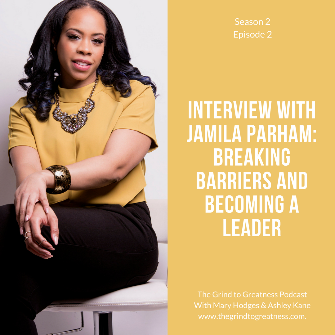 I had the pleasure of being hosted by fellow DePaul Alumni Mary Hodges the voice behind the Grind to Greatness Podcast!