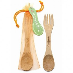 A spork, which is a spoon and fork combined into one. Image from www.biome.com.au.