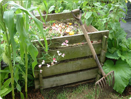 An example of a compost bin. Image from www.yates.com.au