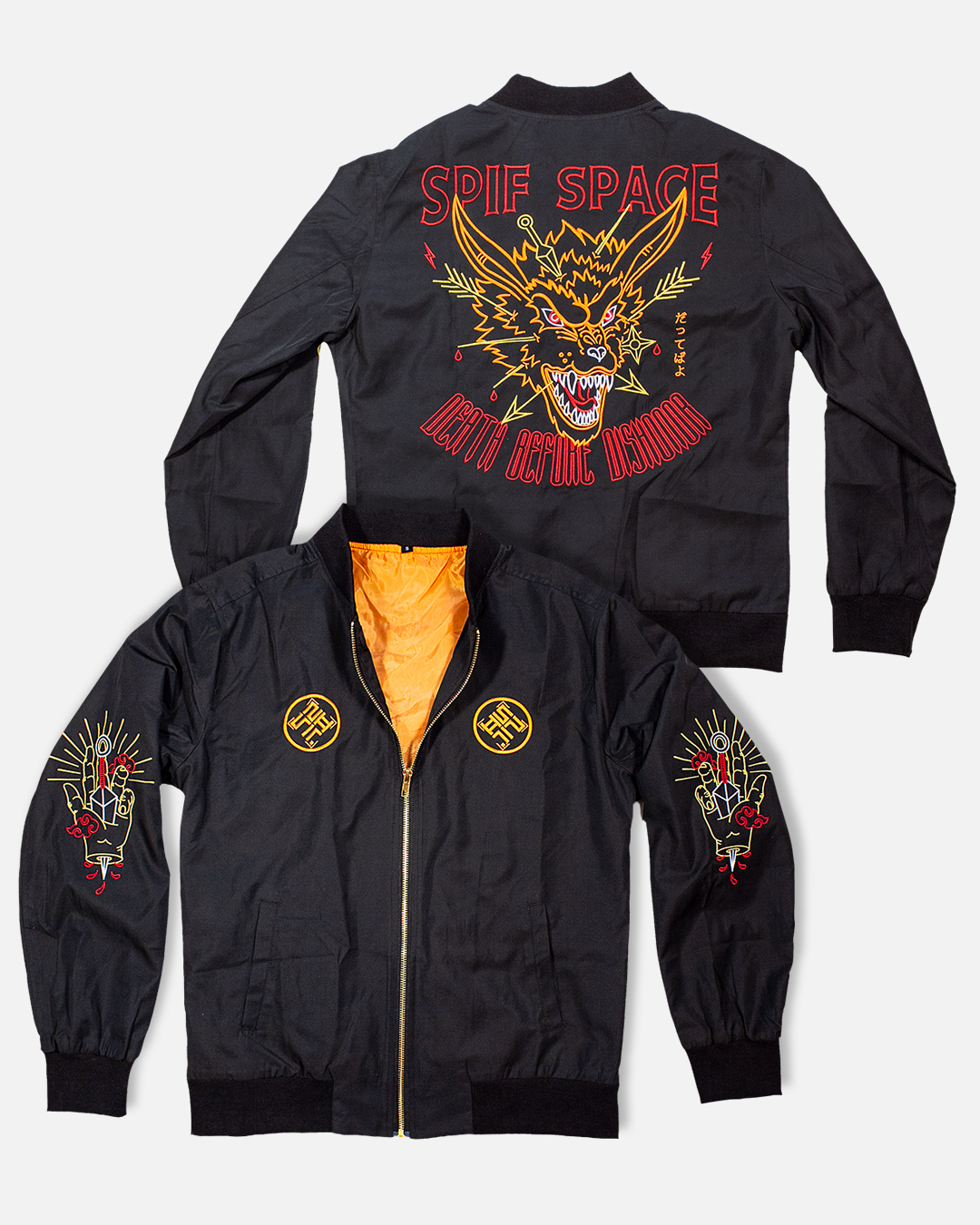 DEATH BEFORE DISHONOR SPRING JACKET