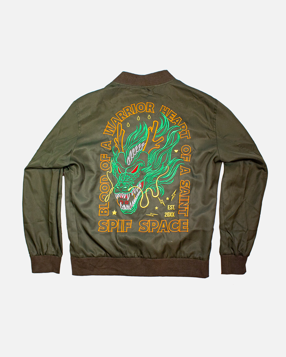 WARRIOR BLOOD SPRING JACKET