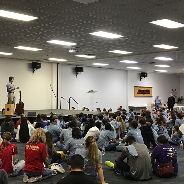 David said the crowd was great at a rally in Houston, Texas. Melissa also spoke in Austin, Texas, this past weekend as well! Continuing to spread the message of adoption! #ilivedonparkeravenue #adoption