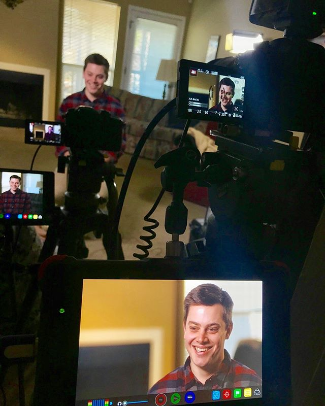 The @the700club interviewed Jimmy and Susan Scotton last night in New Orleans, La, and just finished interviewing @david_scotton in Baton Rouge, La. They are releasing the segment in April and then running it throughout National Adoption Month in November!  #ilivedonparkeravenue #adoption