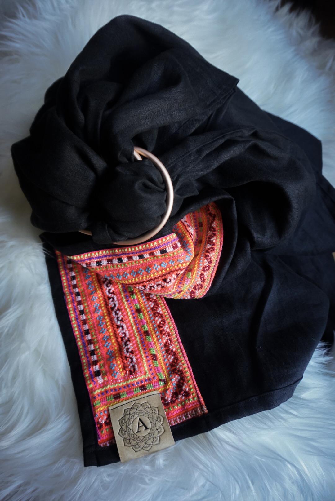 Hmong Hilltribe Black Tourmaline