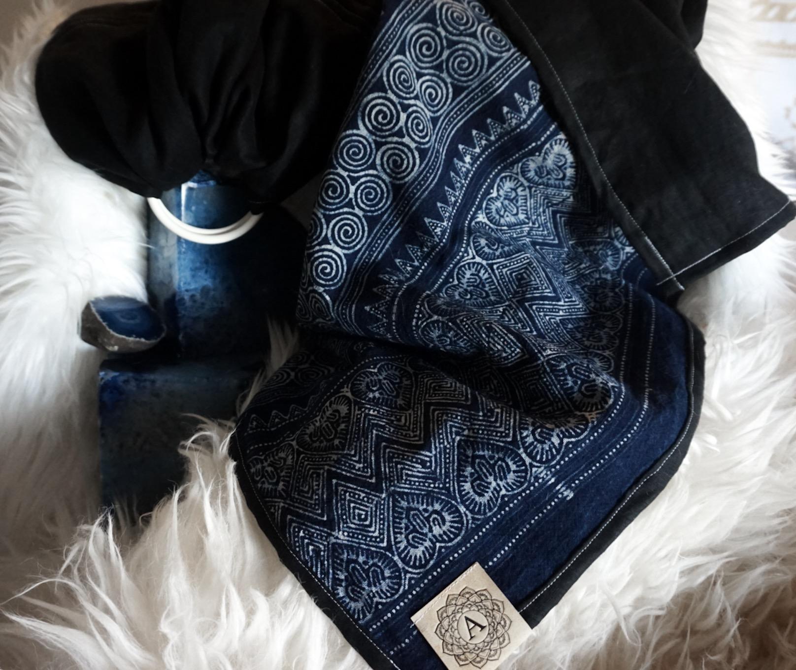 Indigo Batik Black Tourmaline