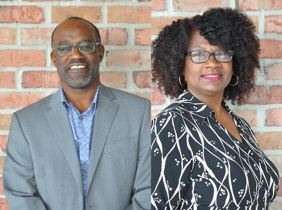 Assistant Pastor Vernon Davis and his wife Kim Davis
