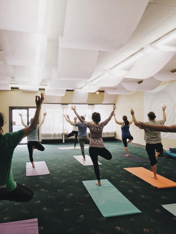 """Absolutely love this yoga studio! Super welcoming and they embrace students at every skill level! The teachers are all amazing and each brings their own touch to classes!"" - -Barbie Alvasted"