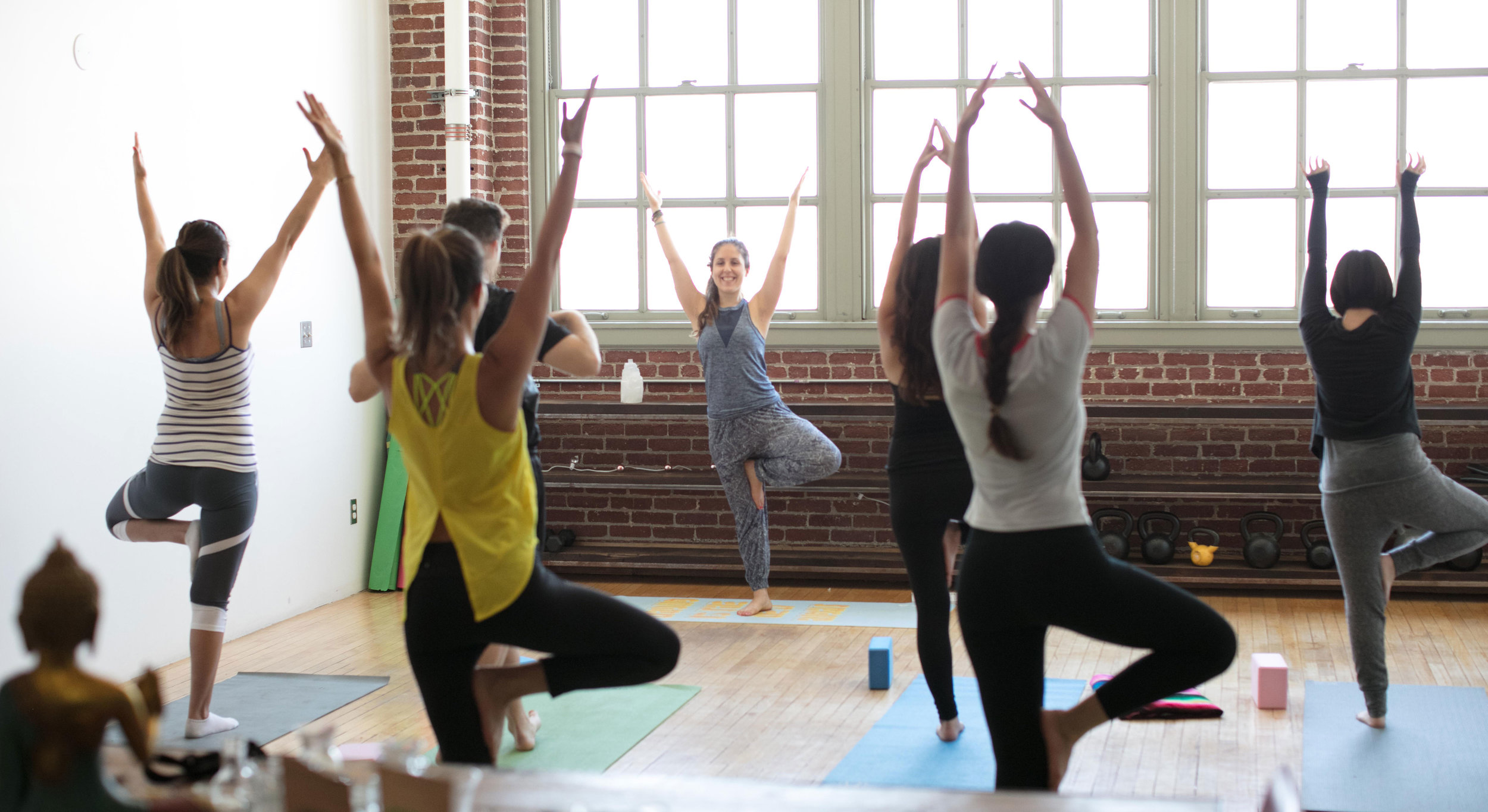 The Local Skill X Partner Yoga Event