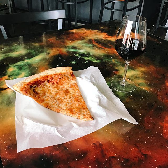 Wine and cheese anyone? 🍕🍷