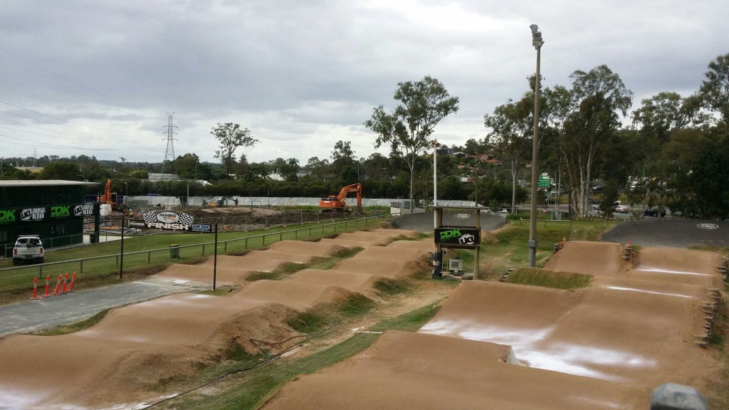 Pre treatment weather proof coating by Sic Surface on Nerang BMX