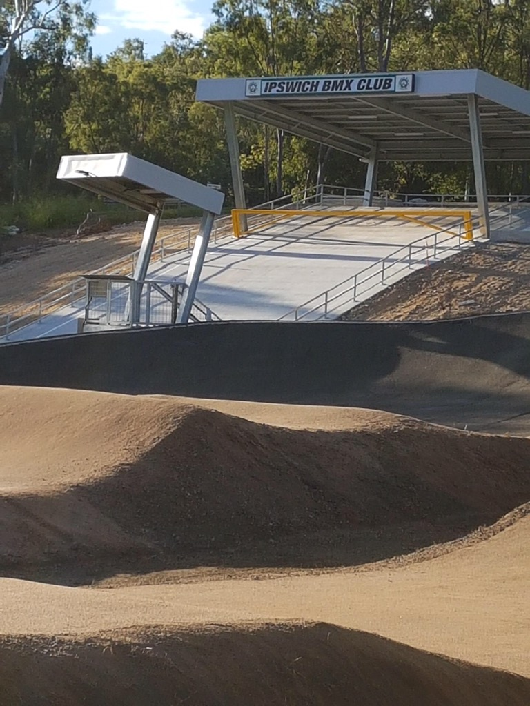 Stop side erosion to BMX tracks with Sic Surface