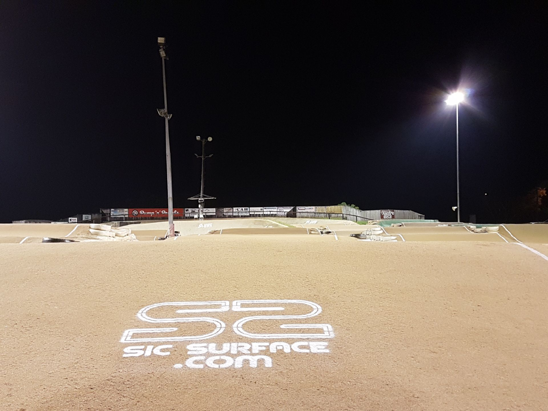 Weather proof BMX Track at Cairns Queensland Sic Surface.JPG