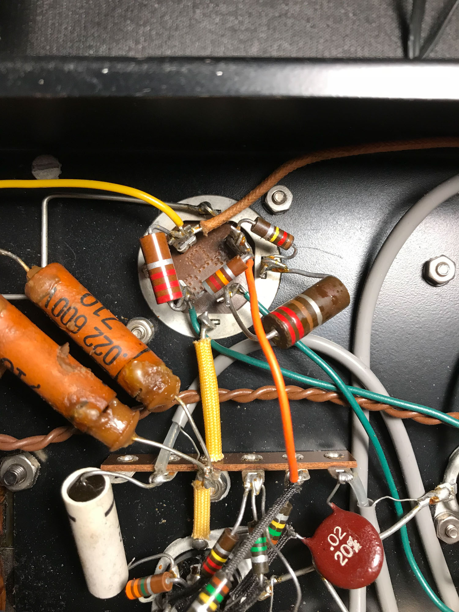 Knight Amp With Bad Capacitors