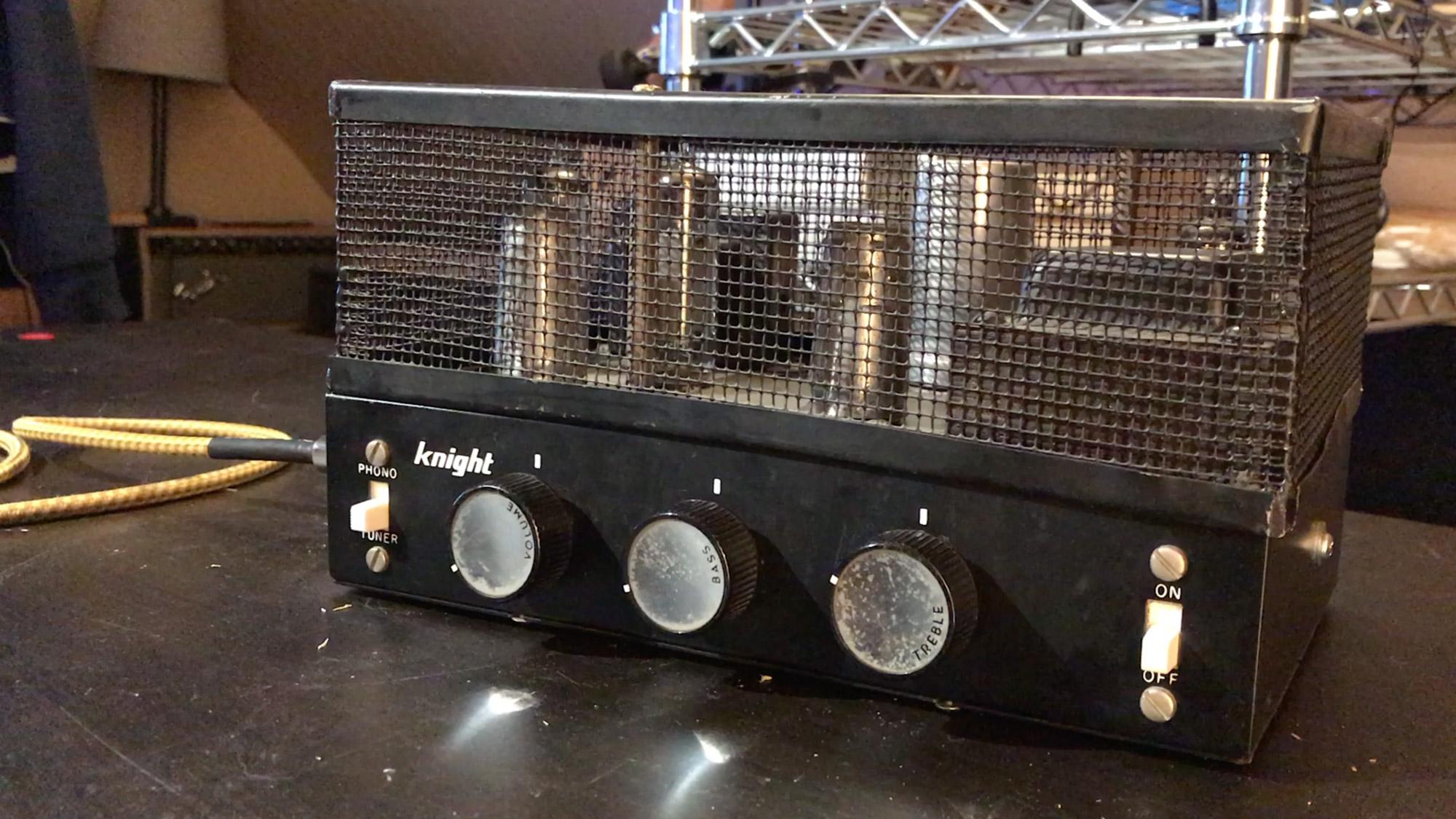 Knight Hi-Fi Amp Front
