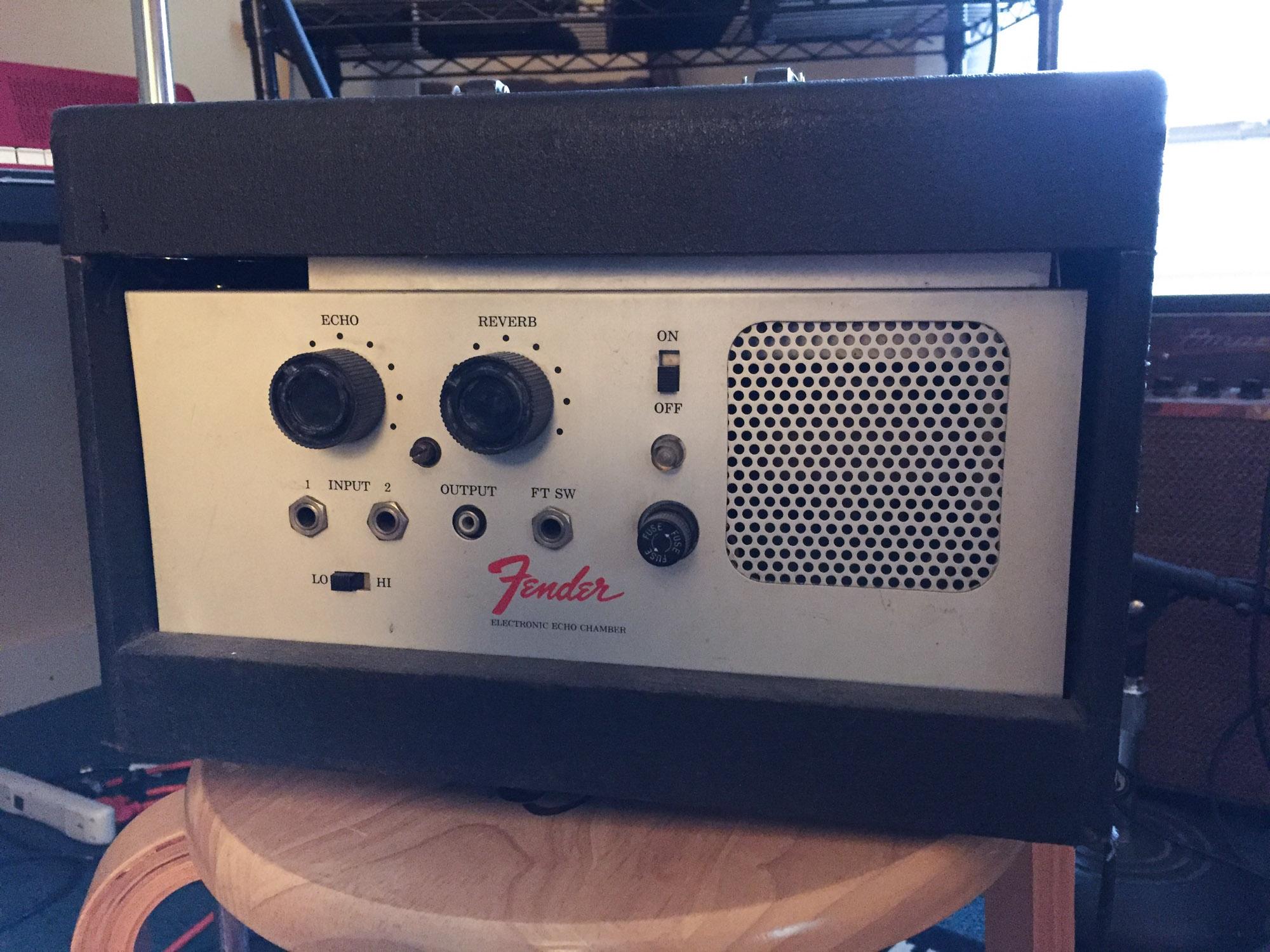 Fender Tape Echo Chamber