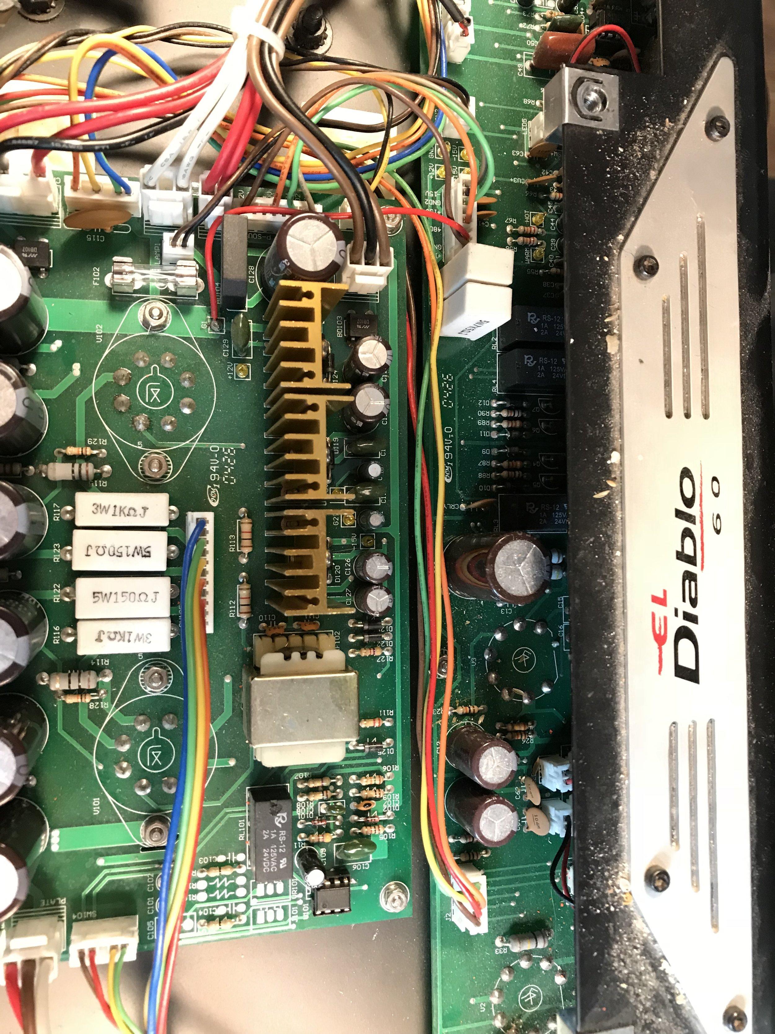 Genz Benz El Diablo Power Supply