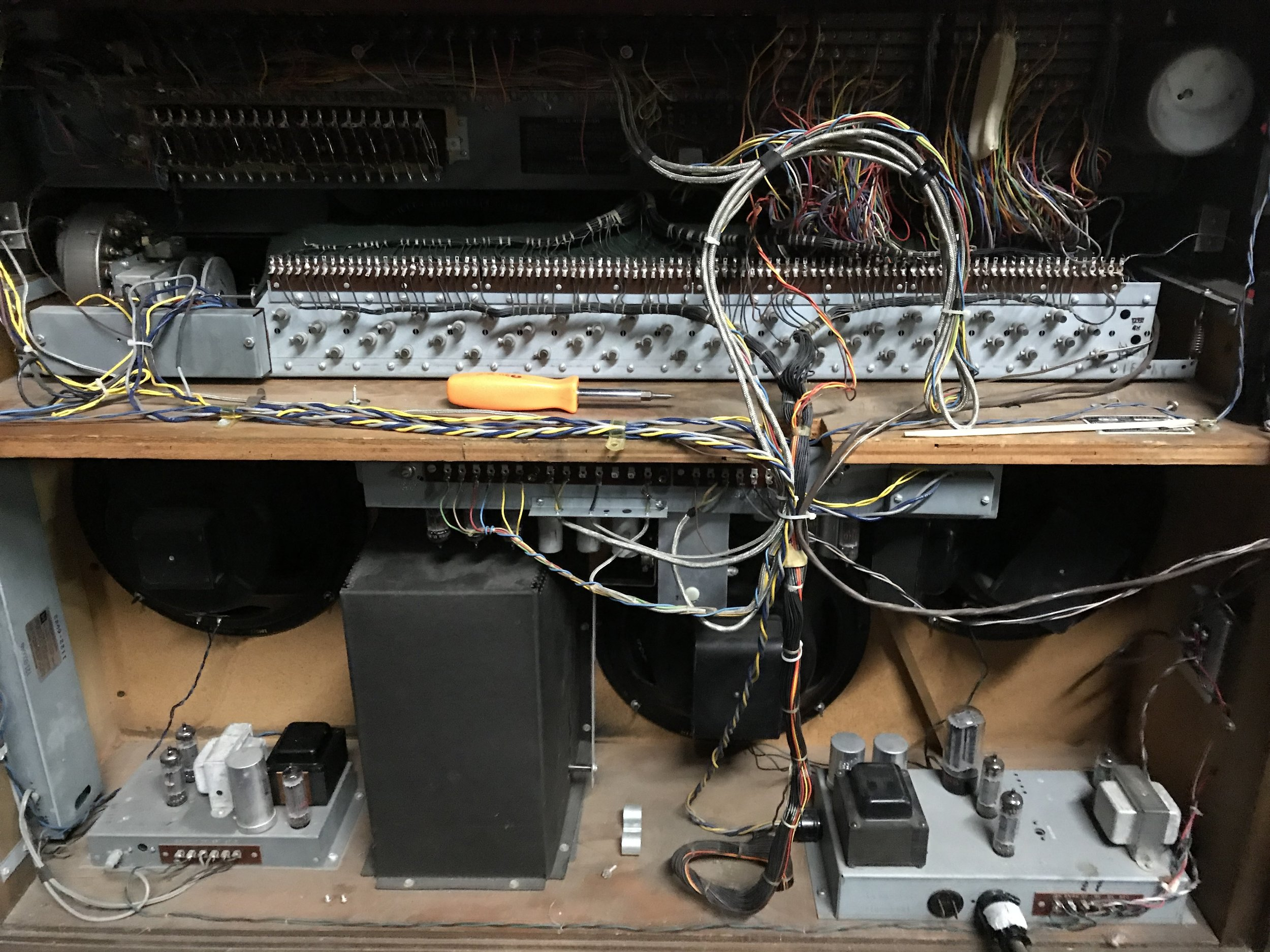 Hammond A105 Service Call