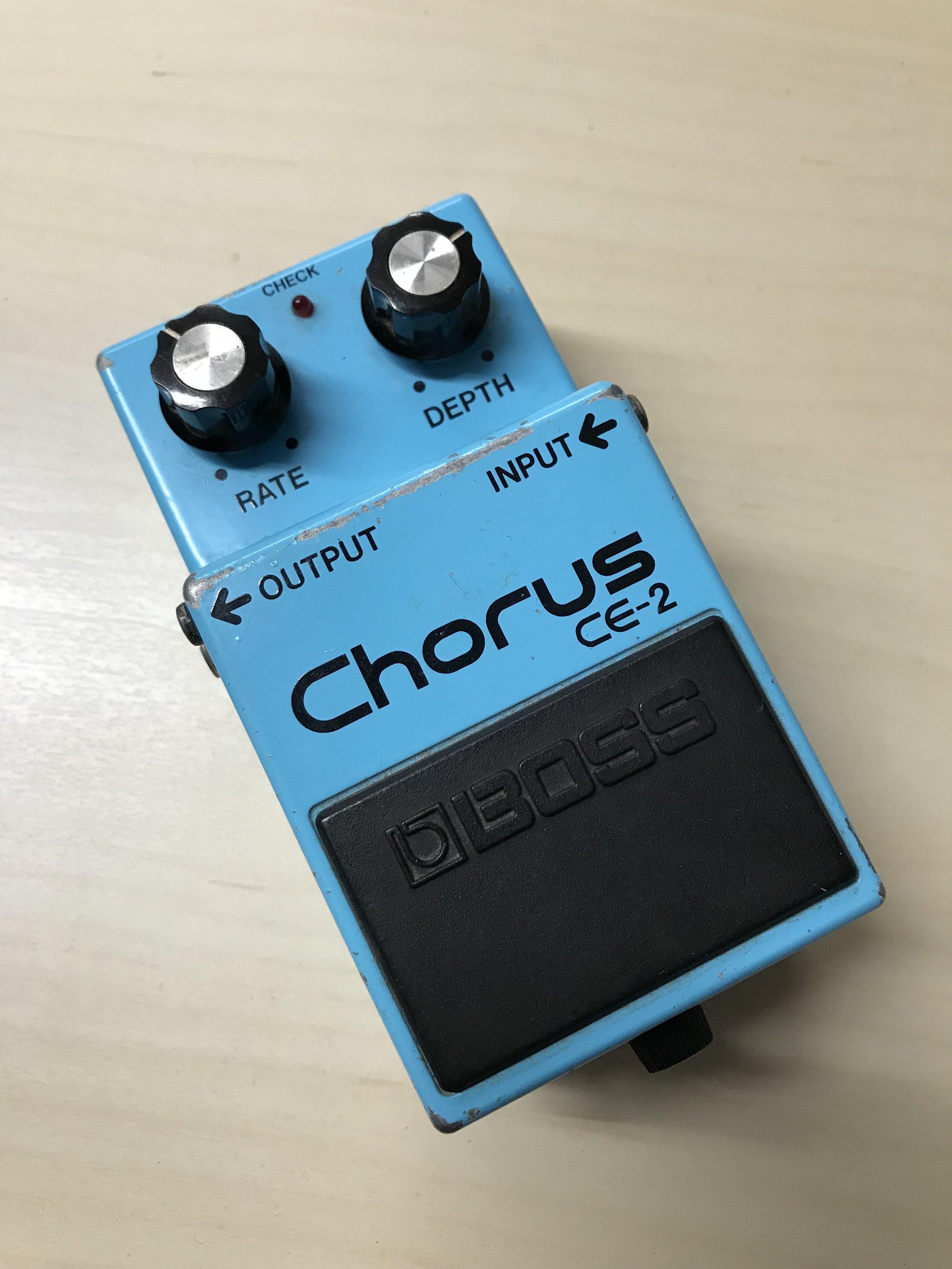 Boss CE-2 Chorus Pedal