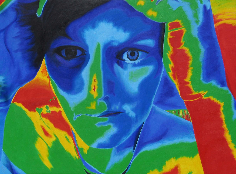 Blairesse Jane : 152 X 112 cm oil on canvas