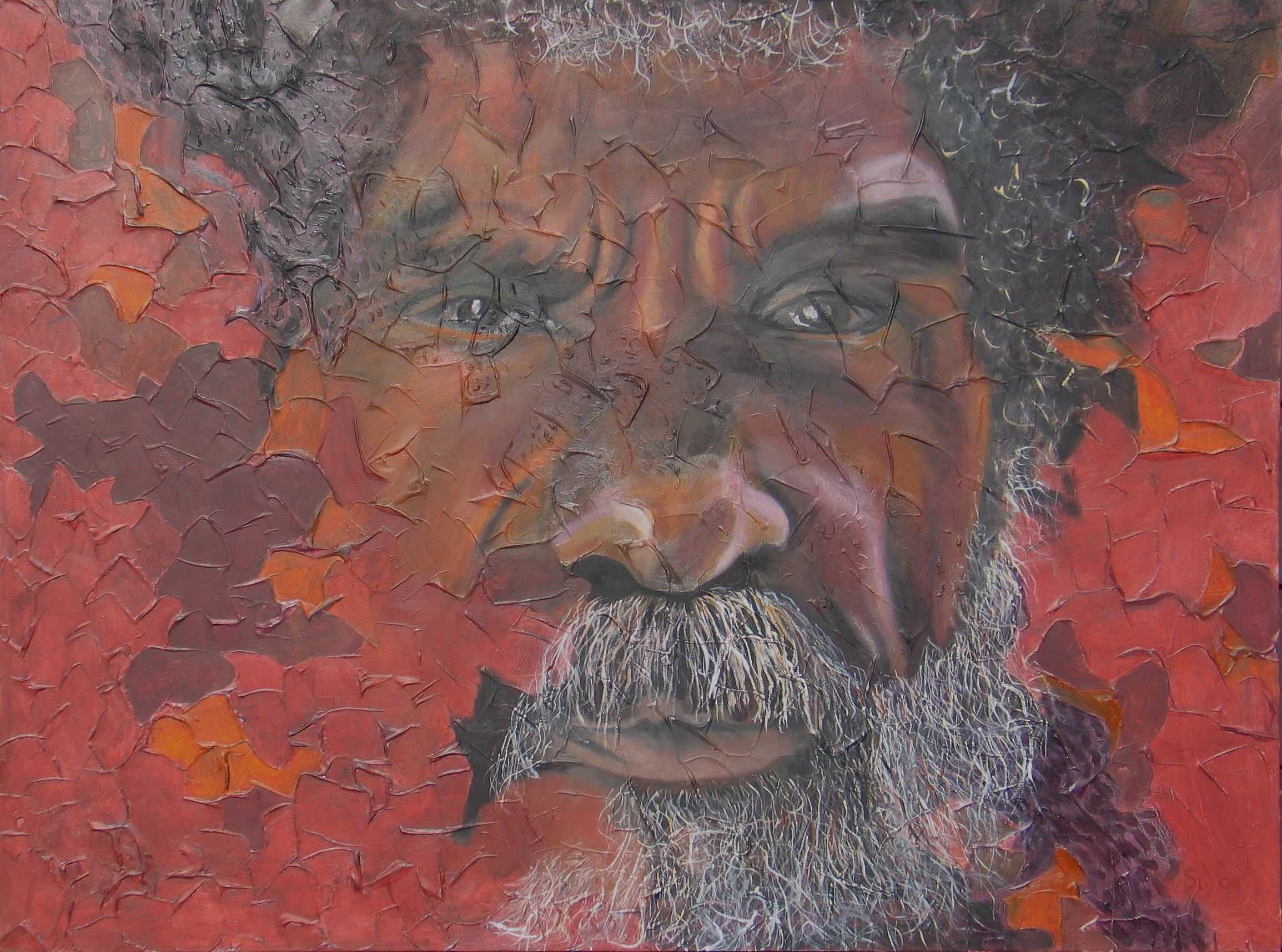 The Big Fella : 122 X 92 cm oil on canvas