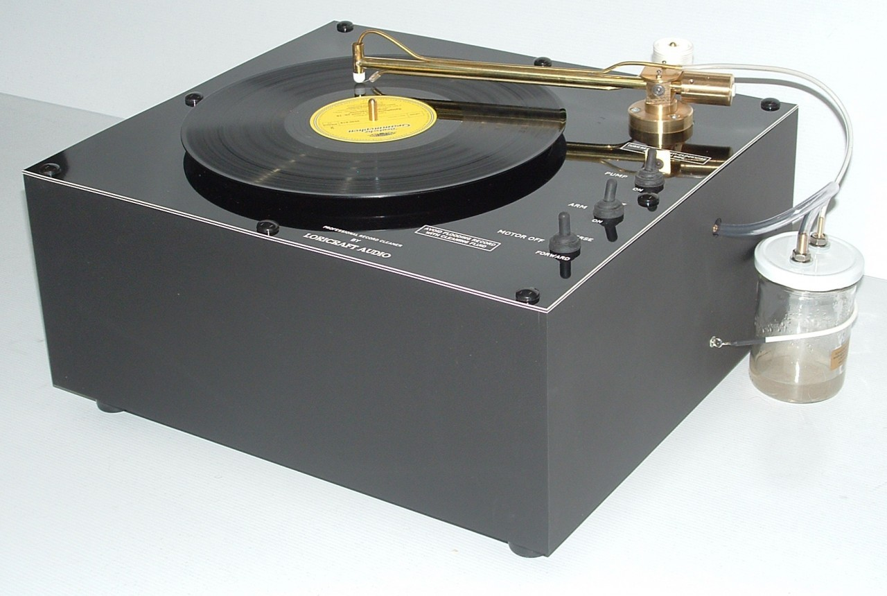 LORICRAFT PRC4 DELUXE RECORD CLEANER   The prestigious Loricraft Record Cleaning Machine range provide a fantastic addition to any audiophile's set-up. Very quiet and need a minimum effort to clean records effectively. This version is a double pump version ...