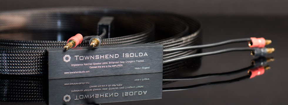 TOWNSHEND AUDIO ISOLDA SPEAKER CABLE   Townshend Audio DCT (Deep Cryogenically Threaded) Isolda Speaker cables have an enviable reputation as being the best cables you can buy. They are a natural and satisfying component for the discerning listener...